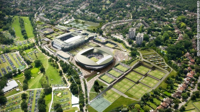 The All England Club, which organizes the Wimbledon Championship, has revealed that it will build a new roof on No.1 Court.