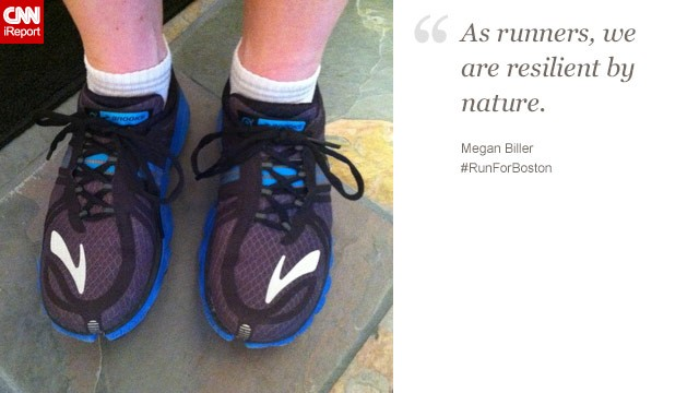 """As runners, we are resilient by nature,"" said Megan Biller, a 29-year-old in Big Rapids, Michigan."