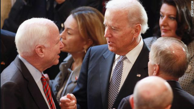 Biden: Economic collapse kept McCain from the White House