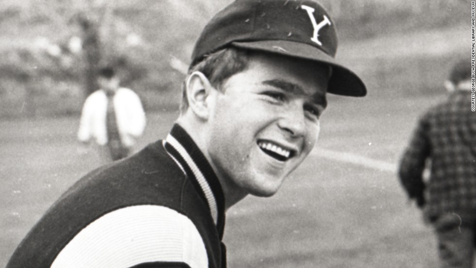 George W. Bush at Yale University, circa 1964-1968.