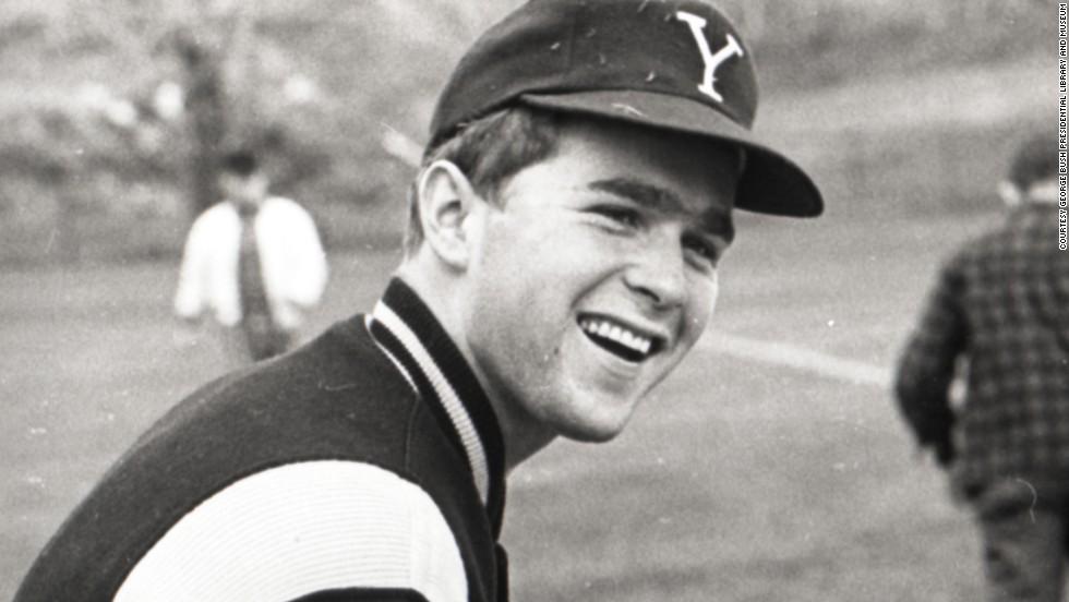 George W. Bush at Yale University, circa 1964-1968.