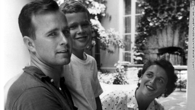 george and barbara bush youngBarbara Bush And George Bush Young