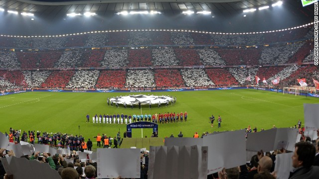 Bayern's 71,000-capacity Allianz Arena hosted the 2012 Champions League final, where Heynckes' team lost to Chelsea on penalties -- completing a hat-trick of runner-up finishes that season.