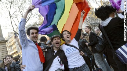 France court ruling clears way for gay bill