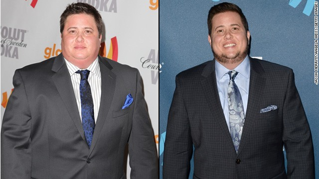 "Chaz Bono told People in April 2013 that he had lost 60 pounds since appearing on season 13 of ""Dancing With the Stars."" ""Diets don't work,"" he told the magazine. ""You just have to change what you eat, and I have."" Bono is pictured arriving at the GLAAD Media Awards in April 2010, left, and in April 2013."