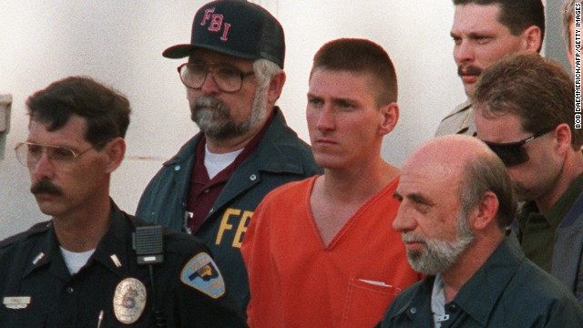 "Timothy McVeigh originally requested that his ashes be spread at the Oklahoma City bombing memorial, the site that commemorates the 168 people he killed in 1995 with a 7,000-pound truck bomb. But he later wrote that that would be ""too raw, cold."" After his 2001 execution, his ashes were given to his attorney, who spread them at an undisclosed location."