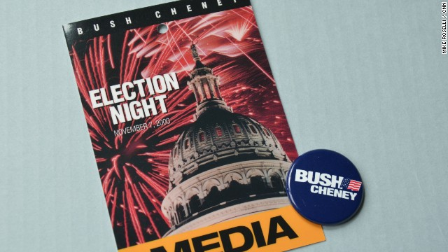 With the opening of the Library, CNN Political Producer Mike Roselli, who covered that 2000 campaign, dug into his political archives for some Bush memorabilia.