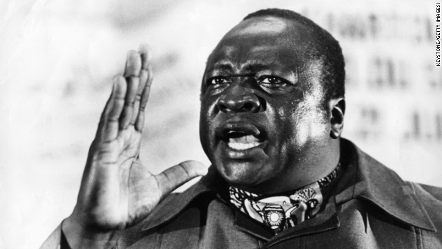 "Idi Amin, the ""<a href='http://www.cnn.com/2003/WORLD/africa/07/21/amin.profile/'>Butcher of Uganda</a>,"" brutally ruled the African nation from 1971-1979 before going into exile in Saudi Arabia. He never returned to Uganda and died in 2003 in Jeddah, where he was later buried. A tourism promotions group in Uganda earlier this year requested his remains be returned so they could be included as part of a tourist attraction."