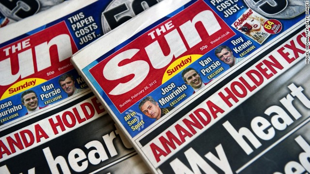 The new British Newspaper 'The Sun on Sunday' on February 26, 2012 in London.