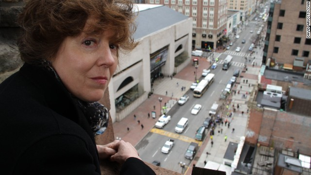 Nancy Taylor, senior minister of Boston's Old South Church, saw the marathon bombings from the church's bell tower.