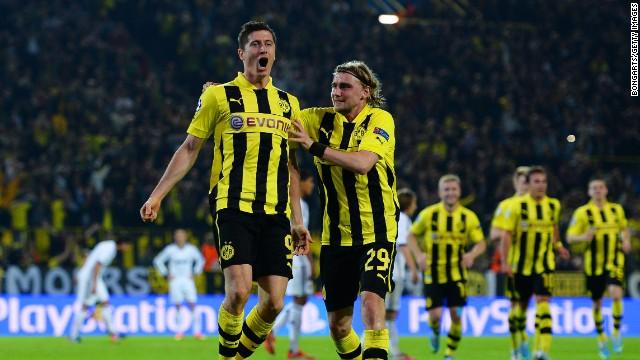El Borussia Dortmund golea al Real Madrid en la segunda semifinal de la Liga de Campeones