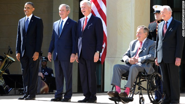 Bush 41 to be back at the White House