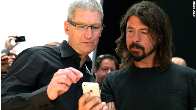 Apple CEO Tim Cook talked iPhone 5 with musician Dave Grohl in September. For a hefty sum, you can chat with Cook, too.