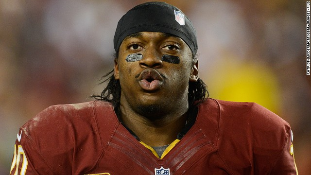 Last year Robert Griffin III was taken by the Washington Redskins as the second draft pick, and the quarterback was named offensive rookie of the year by the Associated Press.
