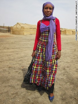 The Darfur Sartorialist is a project designed to showcase to the world the fashionable people of Sudan.