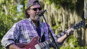 Widespread Panic\'s John Bell at Wanee Festival: This was taken up close with a professional camera.