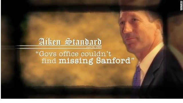Sanford's tale about the trail in ad on campaign trail