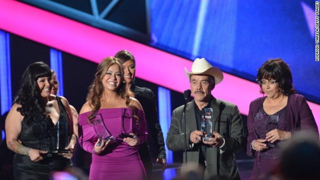 Jenni Rivera fue la gran protagonista de los premios Billboard a la Música Latina