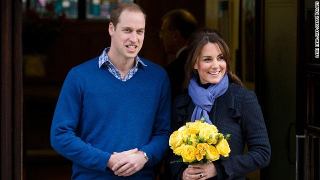 William and Catherine leave the King Edward VII Hospital three days after she was admitted for acute morning sickness. The hospitalization prompted the <a href='http://www.cnn.com/2012/12/06/world/europe/uk-royal-pregnancy'>early announcement of her pregnancy</a>.