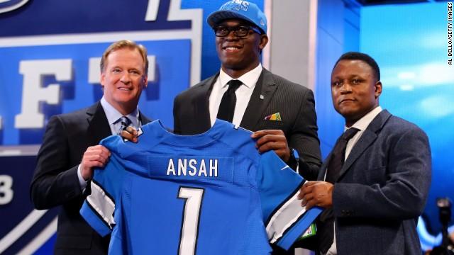 """Ezekiel """"Ziggy"""" Ansah, del basquetbol al atletismo y ahora a la NFL"""