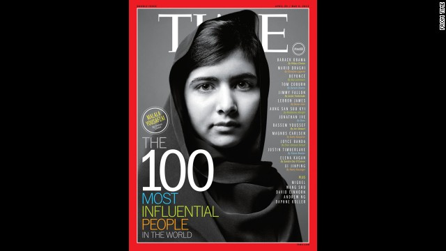 Malala was one of seven people featured on the cover of Time magazine's 100 most influential people edition in April. New threats by the Taliban surfaced on Monday, October 7. The Taliban have denied targeting her for promoting education for girls.