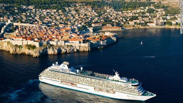 Crystal ships sail around Europe, New England, Canada, the Caribbean/Panama Canal and on world cruises (also available as segments). Some of what's included: Fine wines, premium spirits and dining at Nobu and other specialty restaurants.