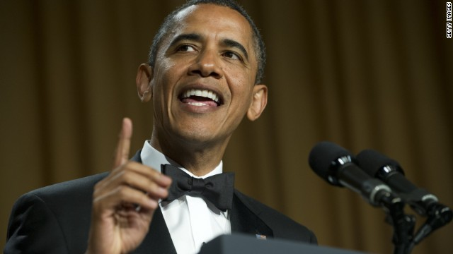 Obama gives as good as he gets at 'Nerd Prom'