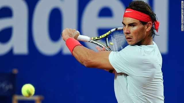 Rafael Nadal is focused on winning an eighth title at the Barcelona Open.