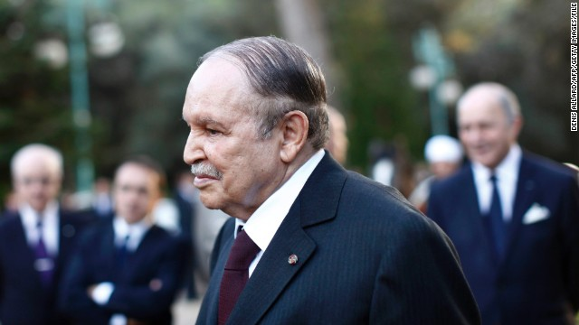 Algeria's president Abdelaziz Bouteflika is being treated for a