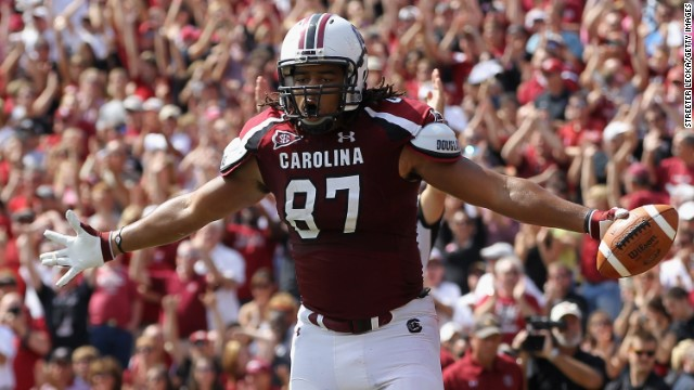 "Justice Cunningham, a tight end from South Carolina, was the final pick of the 2013 NFL Draft, earning him the title of ""Mr. Irrelevant."" Click through the gallery for a look at other last picks from the past 12 years."