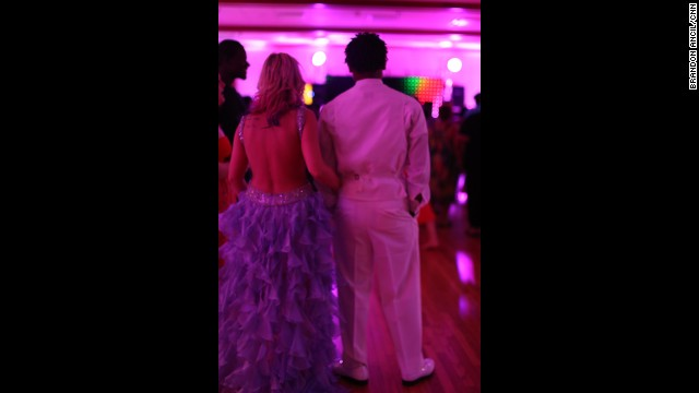 Wilcox County High School senior Alexis Miller and her boyfriend, Jakeivus Peterson, didn't expect to attend a prom. Miller wouldn't go to a prom without him, and he likely wouldn't be allowed at the white prom, she said. Miller said she was proud of her classmates for organizing an integrated prom. Peterson said they came to show they weren't afraid.
