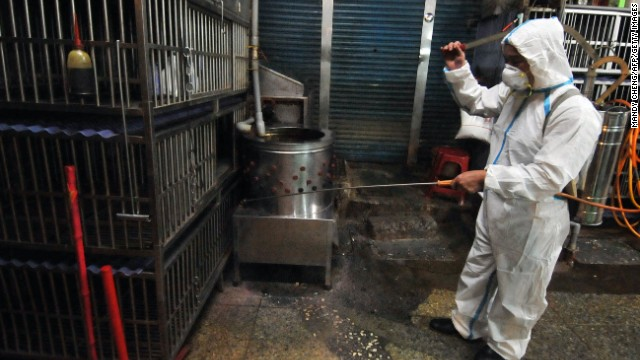 Photos: Bird flu scare spreads