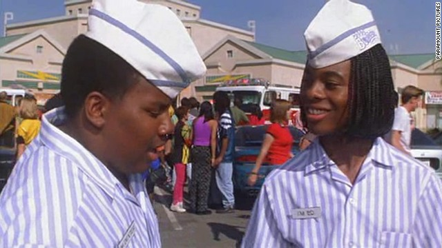 "The Nickelodeon sketch show ""All That"" gave rise to the 1997 comedy ""Good Burger, starring Kenan Thompson, left, and Kel Mitchell. The pair also co-starred in their own show on the network, ""Kenan & Kel."""