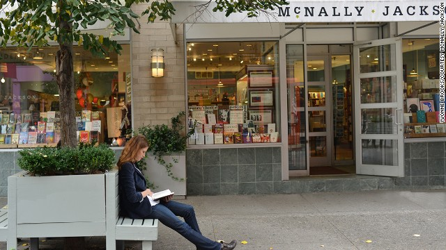 McNally Jackson looks like a traditional New York bookstore, but it houses some cutting-edge technology: the Espresso Book Machine, which prints paperbacks from a catalog of almost 4 million titles.