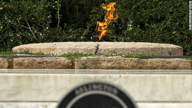 Eternal flame for JFK moved temporarily