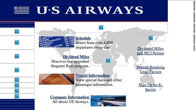 Ready to jet? Get flight information and more from the <a href='http://usairways.com' target='_blank'>usairways.com</a> website of October 1997.