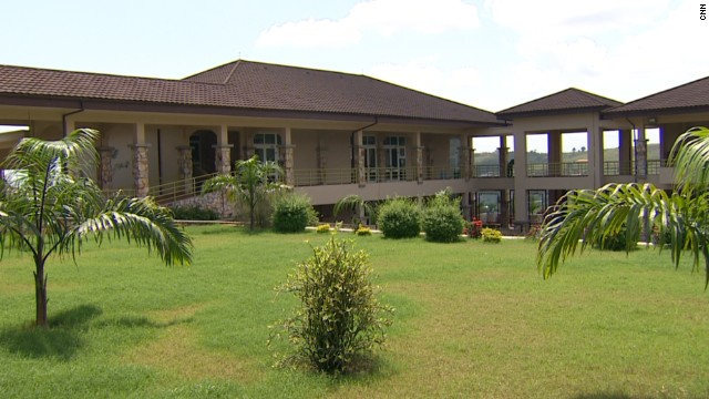 The university's vibrant campus is set on 100 acres in a town called Berekuso, about an hour's drive from Ghanaian capital Accra.