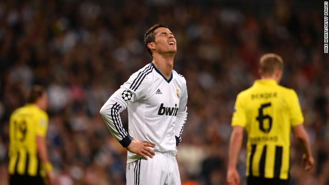 Real piled forward in search of a dramatic winner but not even the mercurial Ronaldo could find that elusive third goal.