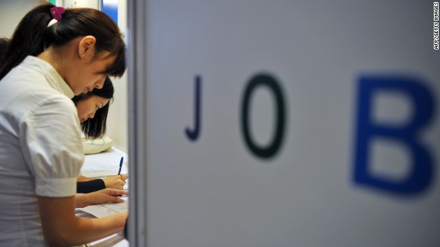 There's a marked difference between first jobs and established career opportunities in China.