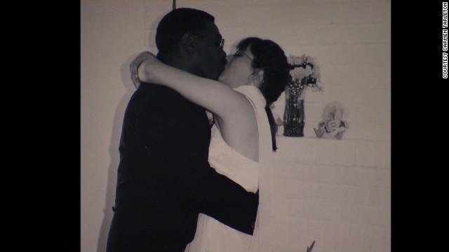 Tarleton and Herbert Rodgers at their 2001 wedding. She says she has forgiven her ex-husband for the attack on her.