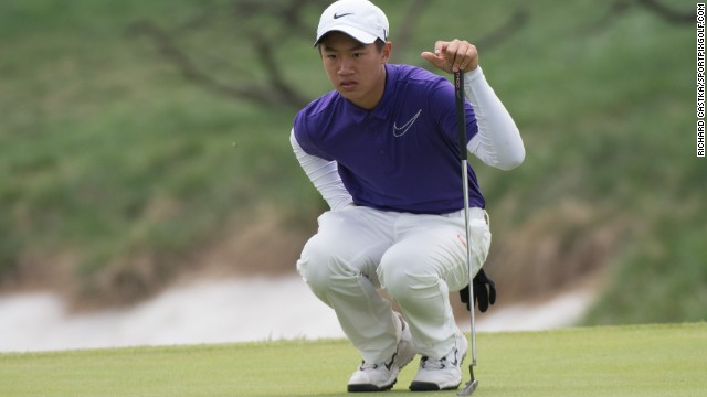 Ye Wocheng made European Tour history when he teed up at the 2013 China Open aged 12 years and 242 days, having come through a regional qualifying event.