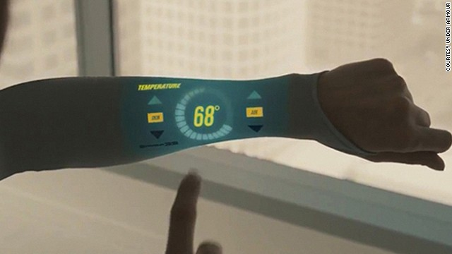 Most people feel anxious when their smartphone is out of arm's reach. But what if it was actually on your arm, woven into the very fabric of your sweater? Sportswear designers Under Armour are already on the case. They recently unveiled their touchscreen t-shirt concept, Armour39, which measures your athletic performance.<!-- --> </br><!-- --> </br>It's just one recent example of how design, technology and science are coming together to form a new generation of consumer products that look set to shape the future.