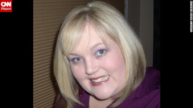 This photo from January 2009 is one of the last pictures that Robinson posed for before starting Weight Watchers and Zumba classes the following month.