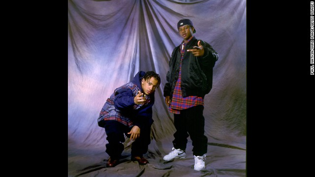 Kris Kross in November 1992 in Chicago.
