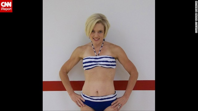 Robinson posed in a bikini in summer 2011, around the same time she opened her first Zumba studio, Fitness Shakers. She went from a size 24 to a 2.