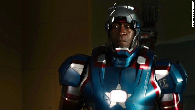 Don Cheadle stars as James Rhodes/War Machine in
