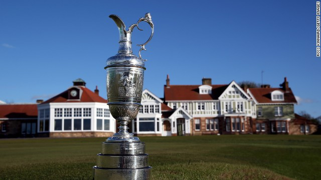 "The ""battle of testosterone"" at Muirfield will decide who takes home the British Open's Claret Jug trophy but women are not allowed to join the clubhouse as members."