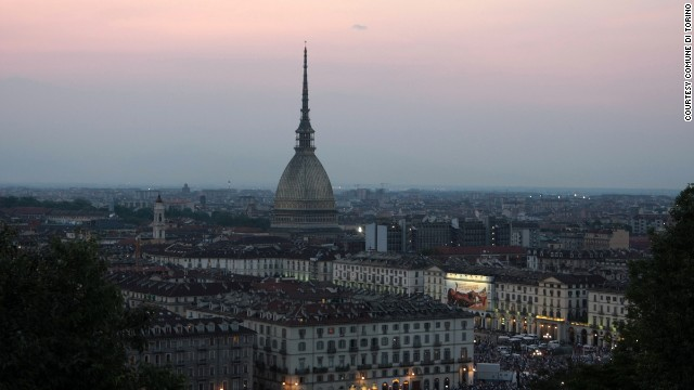 "The Mole Antonelliana that juts out of the city is one of the symbols of Turin. It holds the National Cinema Museum and offers great views across the city. While here, visitors can also try the ""bicerin,"" a typical hot drink made of coffee, chocolate and cream served in a glass goblet."