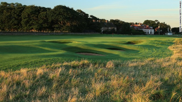 It is the 16th time the Open has been played at Muirfield and the course has had a makeover -- with the biggest change coming at the par-five ninth hole.