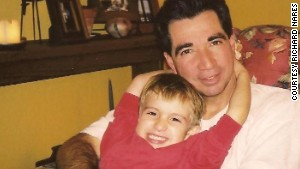 Richard Nares lost his son, Emilio, in 2000. Emilio was diagnosed in 1998 with leukemia.